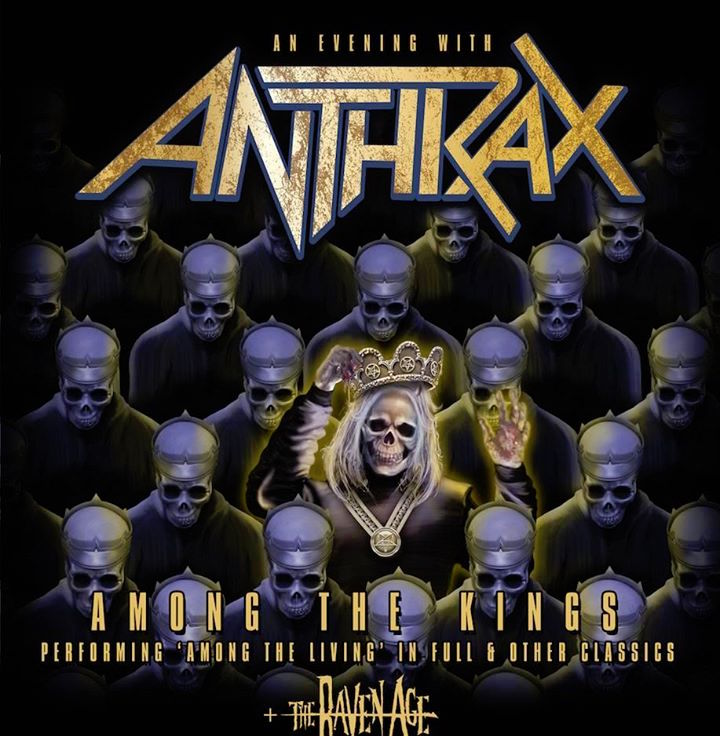 Anthrax tours the Uk in  2017