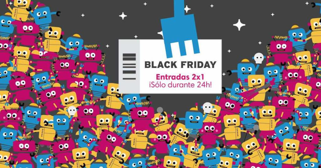 Black Friday Ticketmaster 2x1