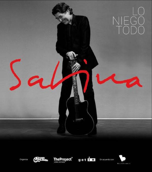 """Gira Joaquín Sabina España """"Lo niego todo"""""""